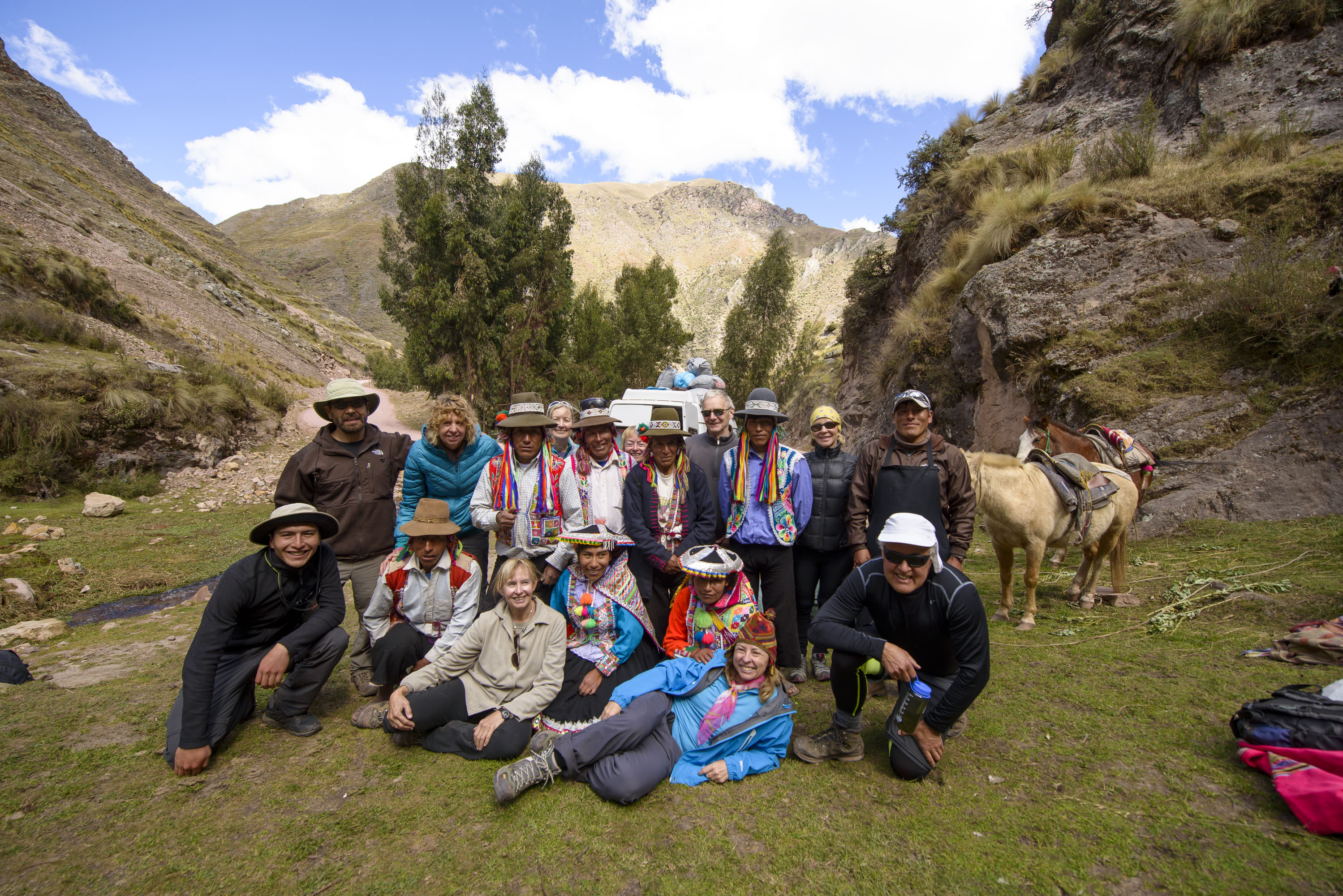 Andean Lodges: bringing together native Andean communities and visitors in Peru's amazingly beautiful mountains