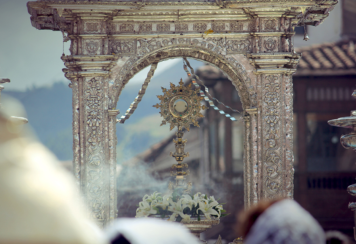 Cusco's Corpus Christi celebration, a festive expression of Peru's Catholic traditions