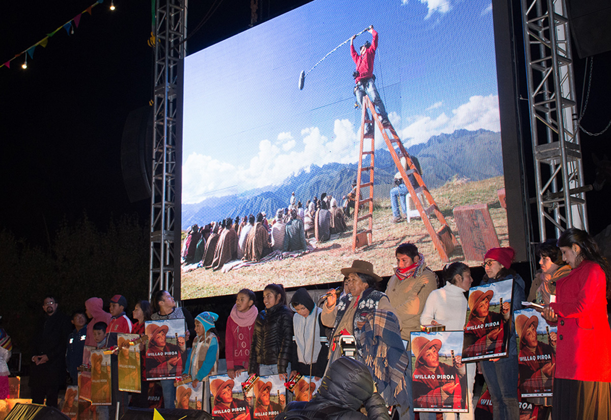 Willaq Pirqa, the first Quechua language film produced in Cusco