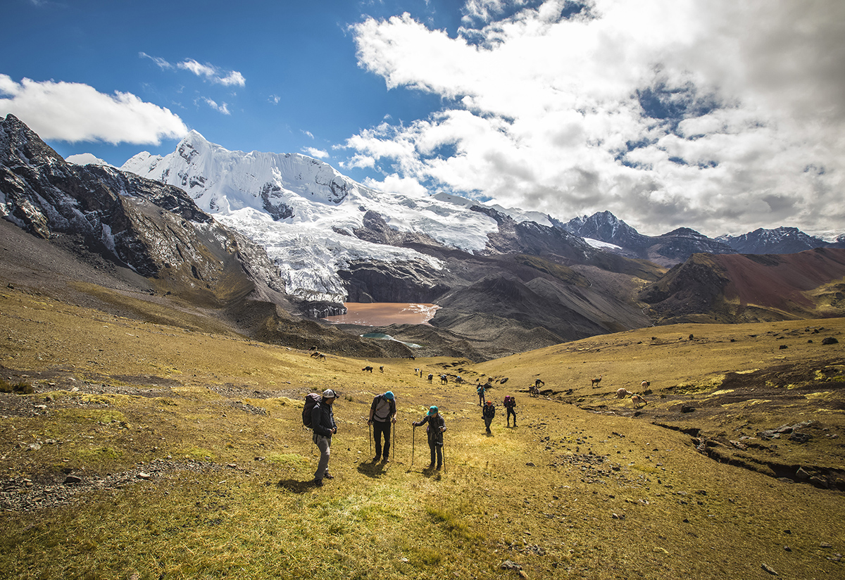 Live a private and intimate journey on an exclusive Andean Lodges trek