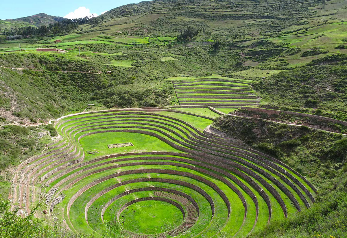 Moray: the Inca's impressive experiment in agricultural engineering