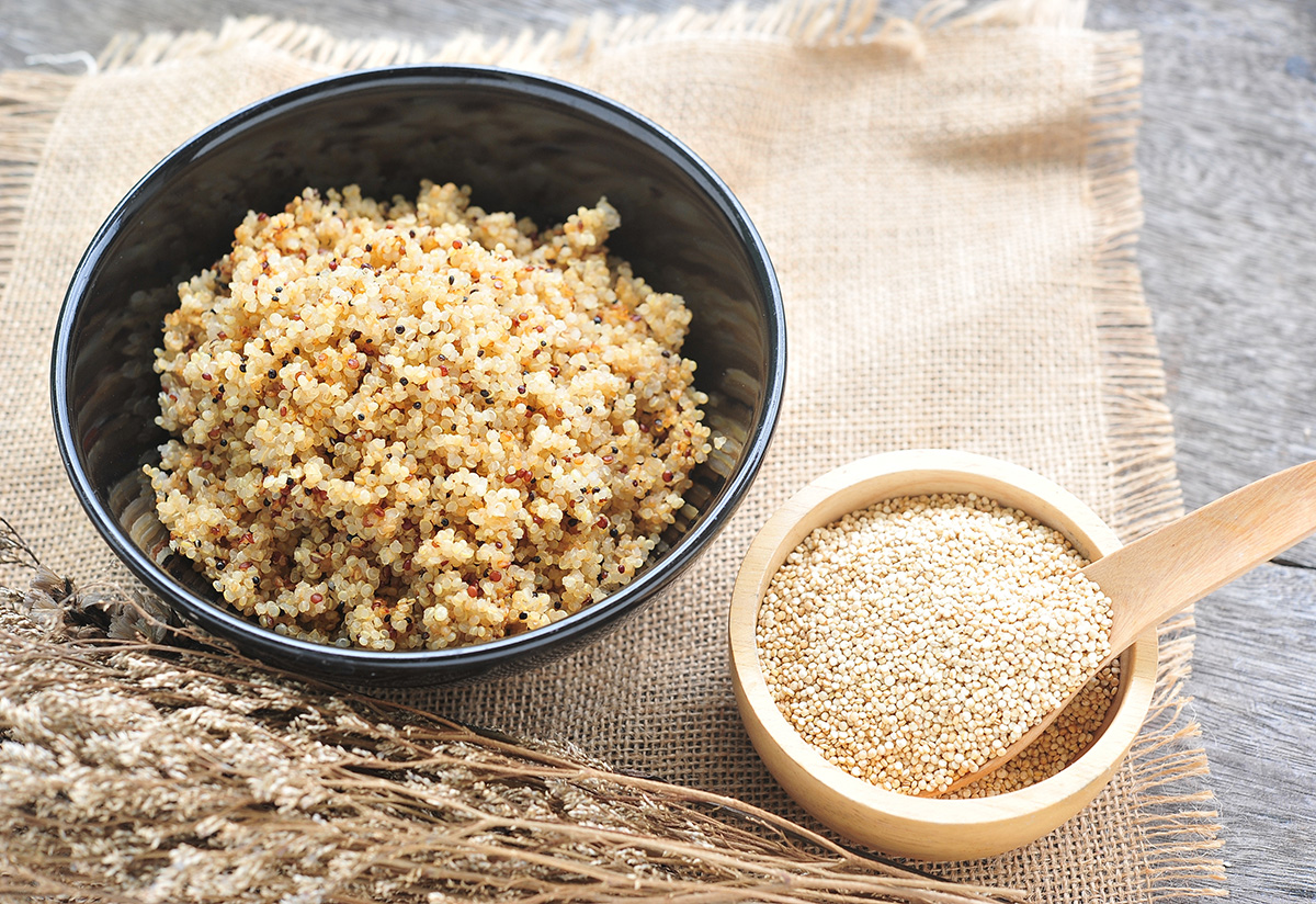 Quinoa: The ancient Andean grain and its benefits for healthy living