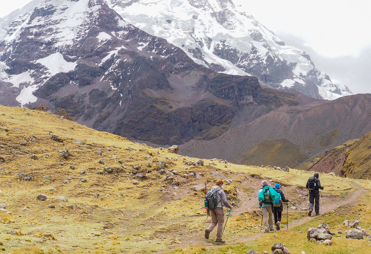 Andes trekking: 6 things to consider if you plan to trek in the Andes during the wet season